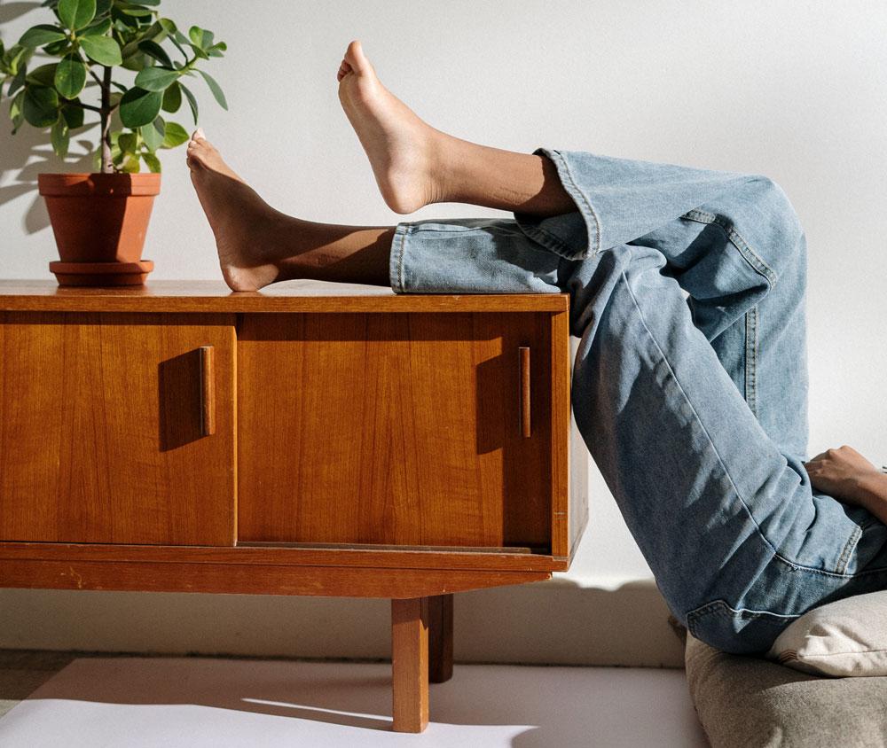 Nachhaltig wohnen - Möbel aus Holz