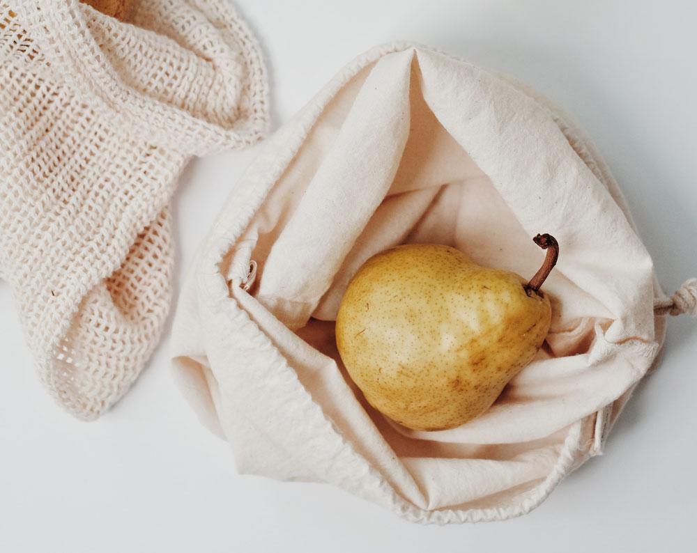 Nachhaltig wohnen - Stoffbeutel statt Plastiktaschen